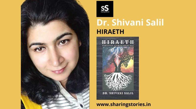 Fiction Book Author Shivani Salil Hiraeth
