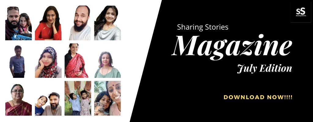 Sharing Stories Magazine July 2020 Edition