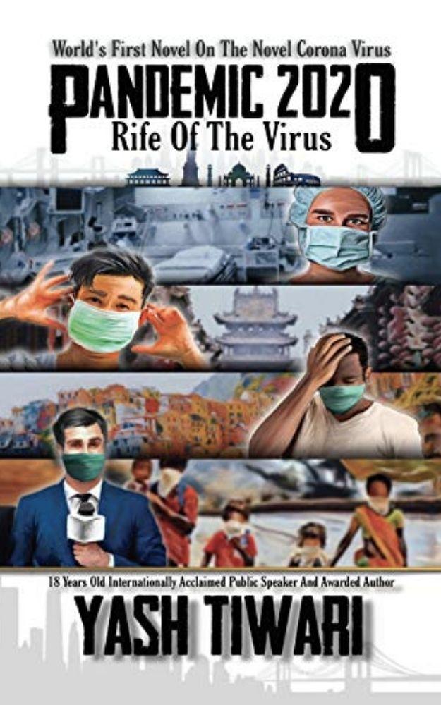 PANDEMIC 2020 - Rife Of The Virus book by Author Yash Tiwari