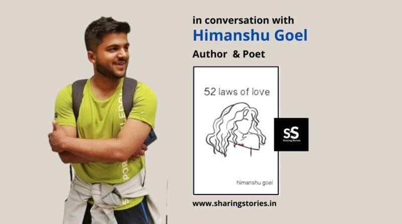 Poet Himanshu Goel Poems