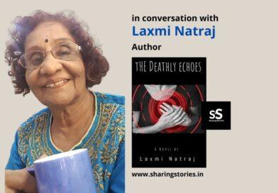 Author Laxmi Natraj Book the deadly echoes