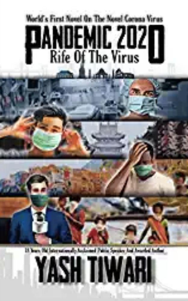 Pandemic 2020 Book by Author Yash Tiwari