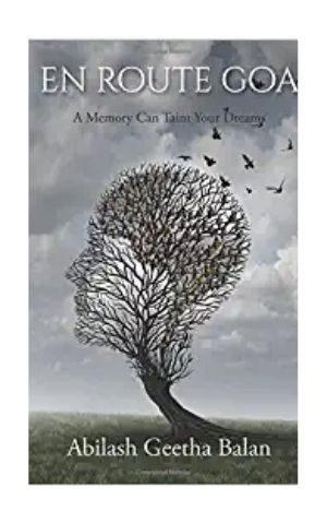 En route Goa thriller book by Author Abilash Geetha Balan